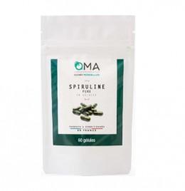 Spiruline pure en gélules - 60 gélules : 35 g